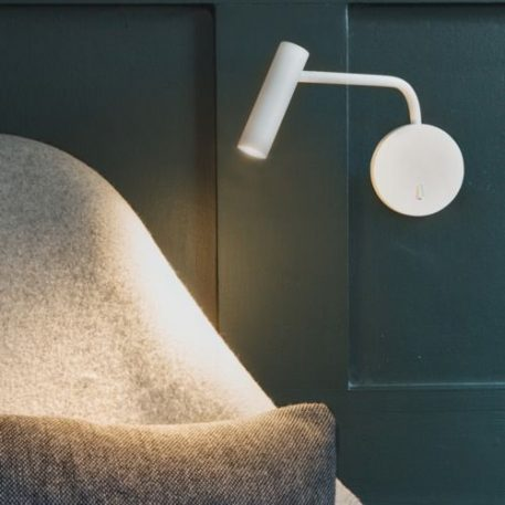 Enna  Reflektor – Na wysięgniku – kolor biały