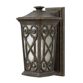 Enzo  Lampa zewnętrzna – klasyczny – kolor brązowy, transparentny