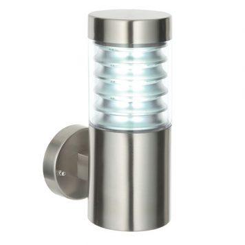 Equinox  Lampa zewnętrzna – Styl nowoczesny – kolor srebrny, transparentny