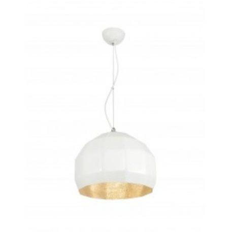 Espo  Lampa wisząca – Styl nowoczesny – kolor biały, złoty