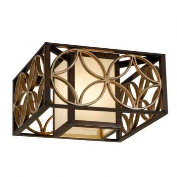 Essex Lampa sufitowa – klasyczny – kolor beżowy, brązowy