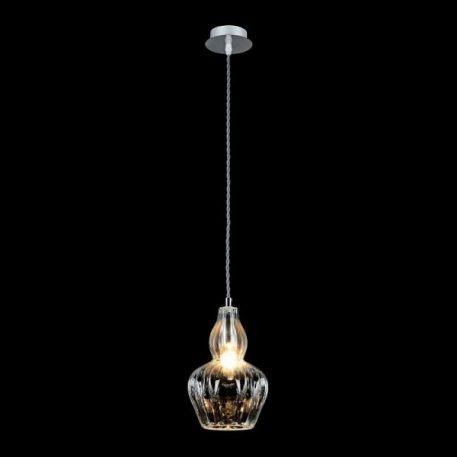 Eustoma Lampa wisząca – szklane – kolor transparentny