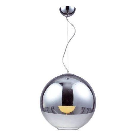 Evia Lampa wisząca – szklane – kolor srebrny