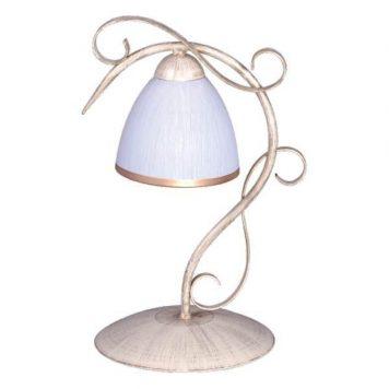 Exaited Lampa klasyczna – szklane – kolor biały, złoty