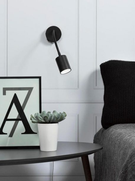 Explore Lampa nowoczesna – Do czytania – kolor Czarny