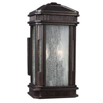 Federal  Lampa zewnętrzna – szklane – kolor brązowy, transparentny