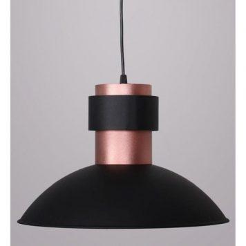 Fepi  Lampa wisząca – industrialny – kolor miedź, Czarny