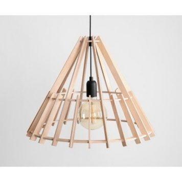 Ferb  Lampa wisząca – Styl skandynawski – kolor brązowy