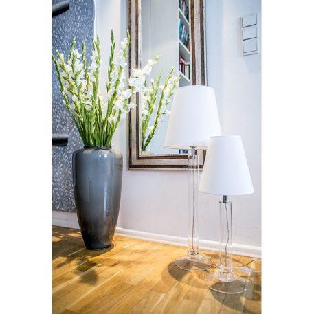 Fjord  Lampa nowoczesna – Styl nowoczesny – kolor biały, transparentny