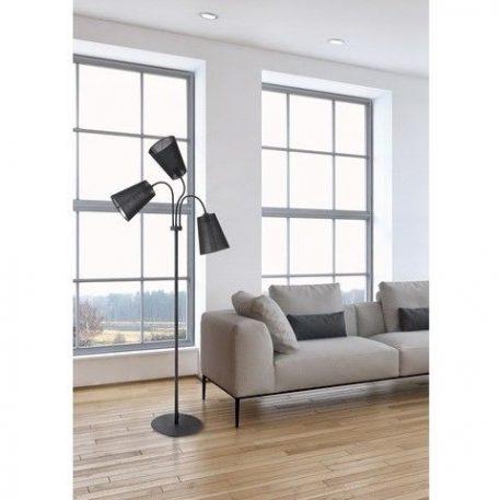 Flex Lampa podłogowa – Z abażurem – kolor Czarny