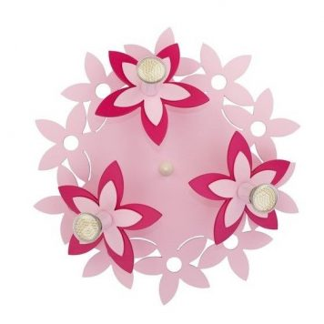 Flowers  Plafon – kolor różowy