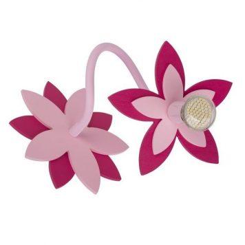 Flowers  Reflektor – kolor różowy