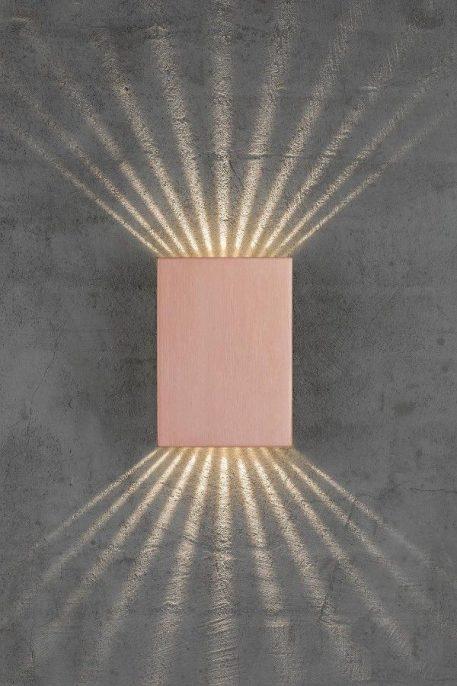 Fold  Lampa zewnętrzna – Styl nowoczesny – kolor miedź