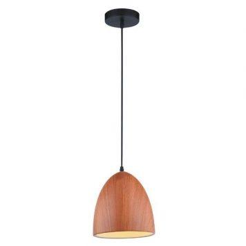 Forge  Lampa wisząca – Styl skandynawski – kolor brązowy