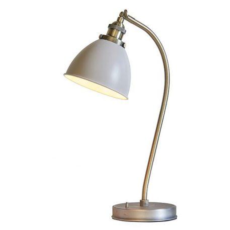 Franklin  Lampa klasyczna – klasyczny – kolor beżowy, mosiądz, złoty