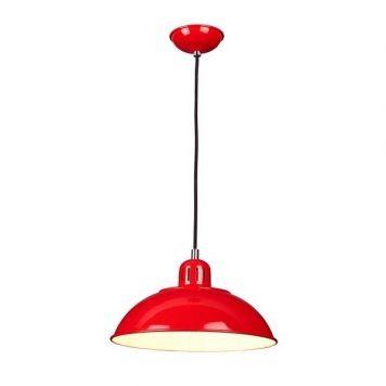 Franklin  Lampa wisząca – klasyczny – kolor Czerwony