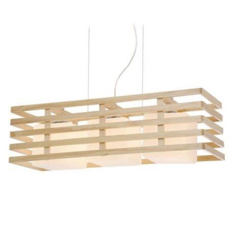 Franklin  Lampa wisząca – Styl skandynawski – kolor biały, brązowy