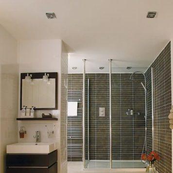 Frascati Square Oczko/spot – Oczka sufitowe – kolor srebrny, transparentny