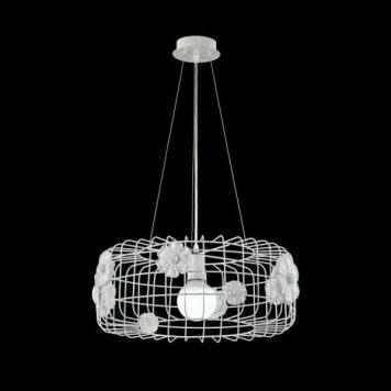 Freeflow Lampa wisząca – Styl nowoczesny – kolor biały