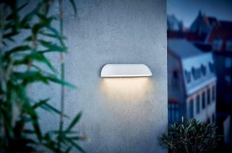 Front 36 Lampa zewnętrzna – Styl nowoczesny – kolor biały