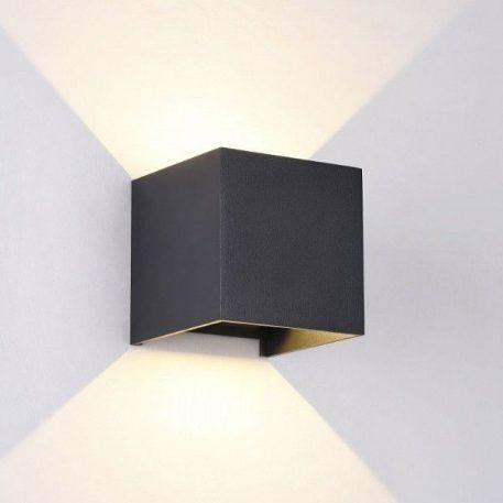 Fulton  Lampa zewnętrzna – Lampy i oświetlenie LED – kolor Czarny