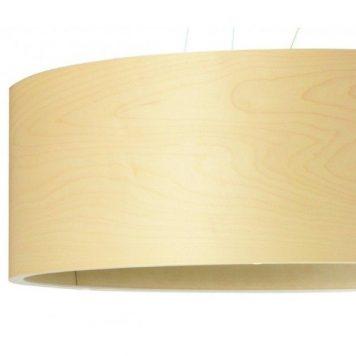 Funk  Lampa wisząca – Drewniane – kolor brązowy