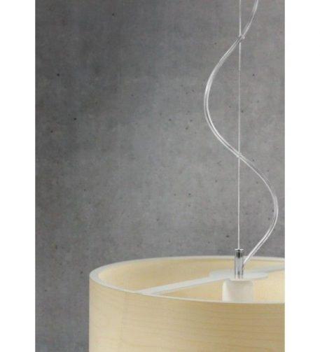 Funk  Lampa wisząca – Styl skandynawski – kolor brązowy