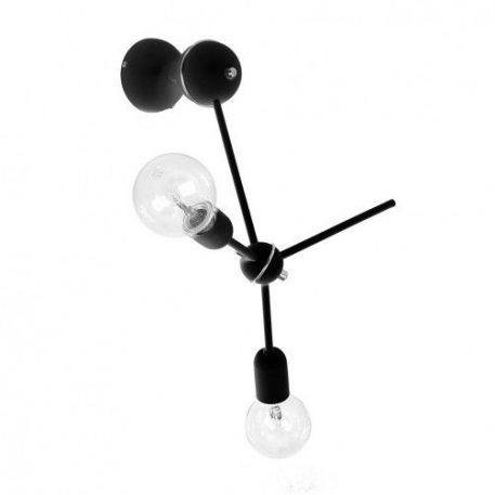 Furia  Lampa nowoczesna – Styl nowoczesny – kolor Czarny