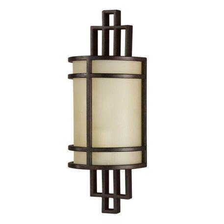 Fusion Lampa modern classic – szklane – kolor beżowy, brązowy