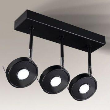 Fussa LED Reflektor – Styl nowoczesny – kolor Czarny