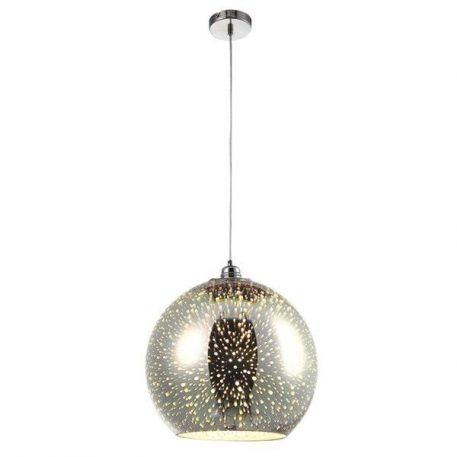 Galaxy  Lampa wisząca – szklane – kolor srebrny