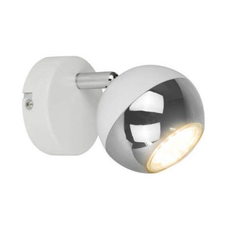 Gaster Lampa nowoczesna – Do czytania – kolor biały, srebrny