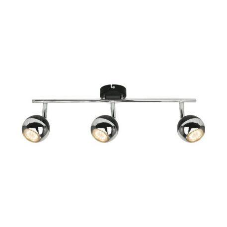 Gaster Lampa sufitowa – Styl nowoczesny – kolor srebrny, Czarny
