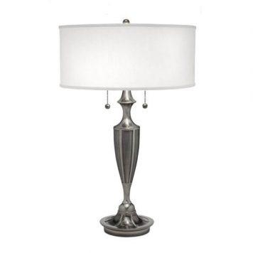 Gatsby Elstead Lampa klasyczna – klasyczny – kolor biały, srebrny