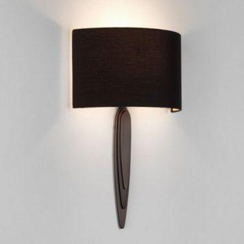 Gaudi  Lampa modern classic – Z abażurem – kolor brązowy