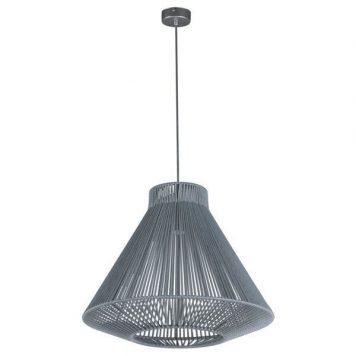 Gaudi  Lampa wisząca – Styl nowoczesny – kolor srebrny, Szary