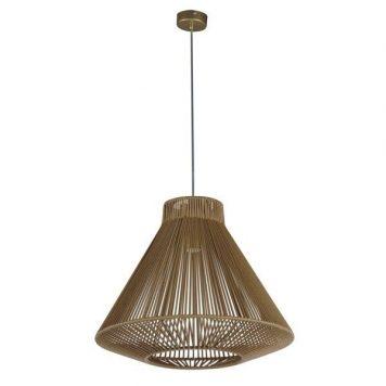Gaudi  Lampa wisząca – Styl skandynawski – kolor brązowy, złoty