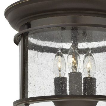 Gentry Lampa sufitowa – Plafony – kolor brązowy, transparentny