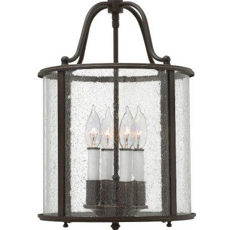 Gentry  Lampa wisząca – klasyczny – kolor brązowy, transparentny