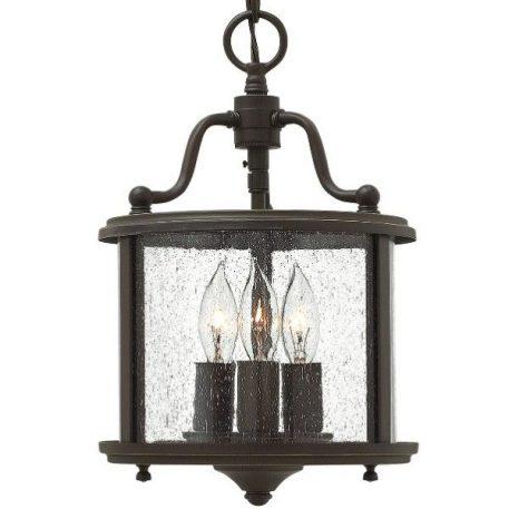 Gentry  Lampa wisząca – szklane – kolor brązowy, transparentny