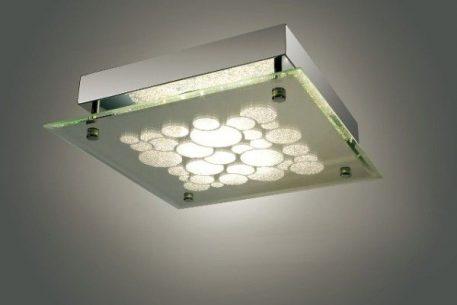 Genua  Plafon – Lampy i oświetlenie LED – kolor srebrny