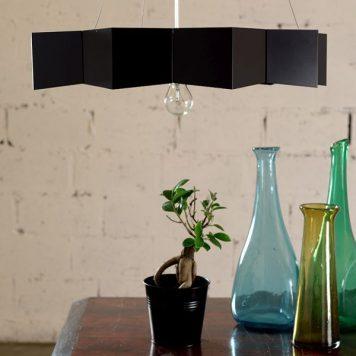 Geo Lampa wisząca – Styl nowoczesny – kolor Czarny