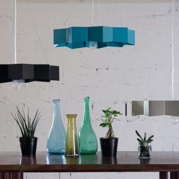 Geo Lampa wisząca – Styl nowoczesny – kolor Zielony