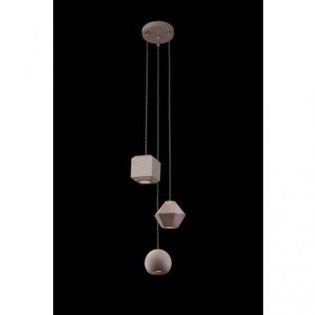 Geometric Lampa wisząca – Styl nowoczesny – kolor Szary