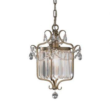 Gianna  Lampa wisząca – klasyczny – kolor srebrny, złoty