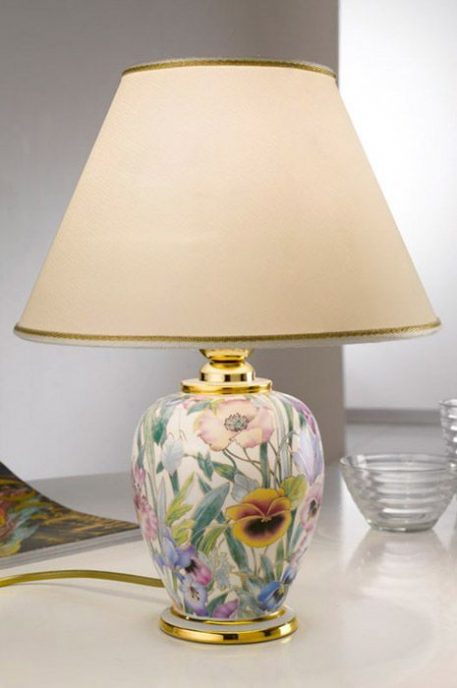 GIARDINO Lampa klasyczna – Ceramiczne – kolor beżowy