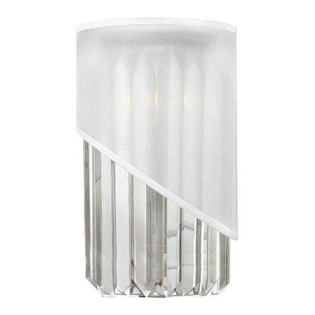 Gigi Lampa nowoczesna – kryształowe – kolor biały, srebrny