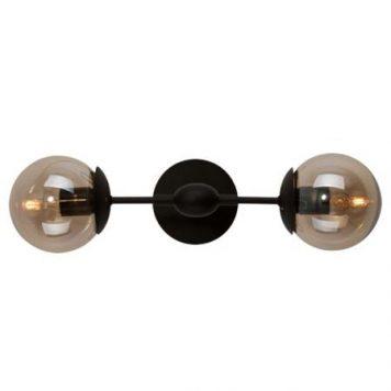 Glass Bowls  Lampa nowoczesna – industrialny – kolor beżowy, Czarny