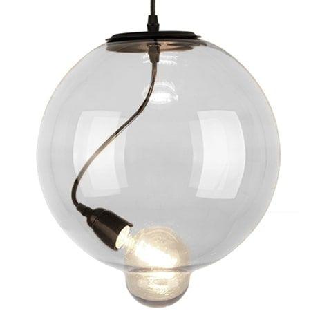 Glass bubble Lampa wisząca – szklane – kolor transparentny