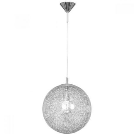 Globus  Lampa wisząca – szklane – kolor połysk, srebrny, transparentny